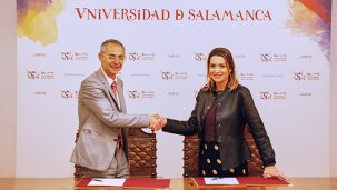 A EGAP e a Universidade de Salamanca asinan un convenio de colaboración